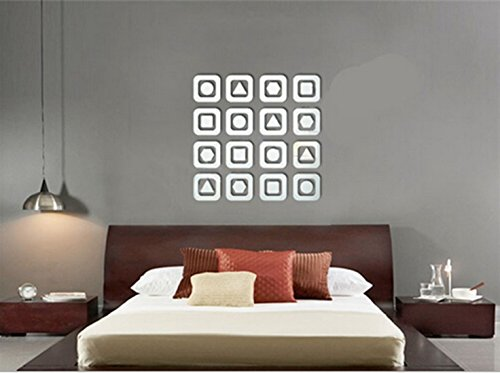 Lefox Background wall decorative mirror wallpaperFO144