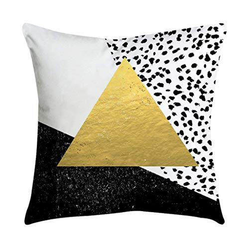 I613 Rose Black Gold Pillow Cases Fashion Mode Pattern Square Pillow Cover Cushion Cover Decoration For Sofa Bed