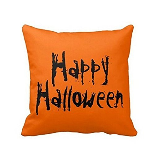 Hatop Halloween Pillow Case Sofa Waist Throw Cushion Cover Home Decor C
