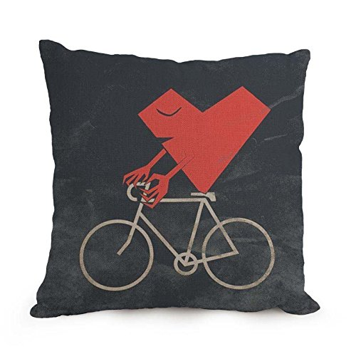The Love Cushion Cases Of 18 X 18 Inches  45 By 45 Cm Decoration Gift For Bar Bf Bedroom Bedroom Study Room Drawing Room two Sides