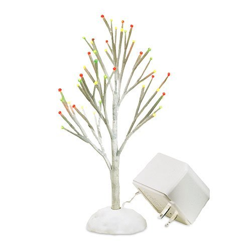 Department 56 Lighted Snowy Tree Village Accessory 52683
