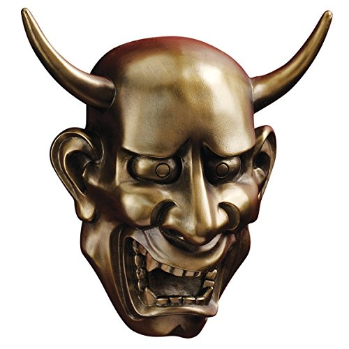 Design Toscano Noh Hannya Demon Mask Wall Sculptures