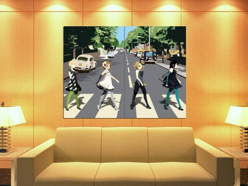 XD5602 K-On Manga Abbey Road Girls Anime Art HUGE GIANT WALL POSTER