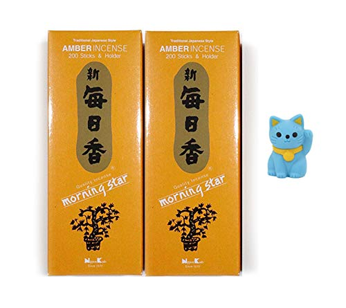 NipponKodo Morning Star Incense Fragrances Pure Floral Essences and Aromatic Woods Amber 2
