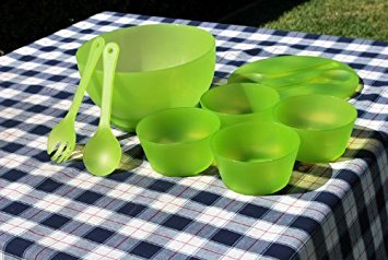 Supreme Housewares 70684 Green Chill Salad Bowl Set