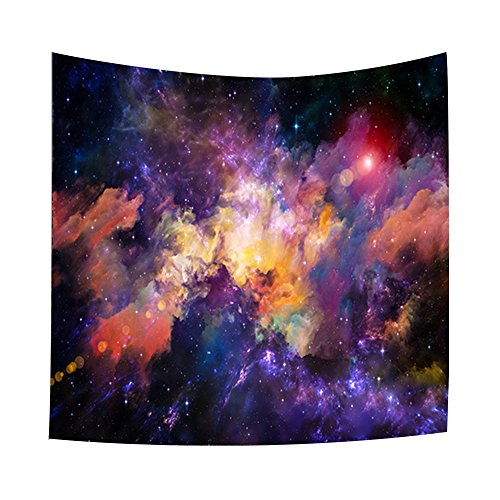 Kaleidoscope Universe Wall Art Decor 3D Deep Space Galaxy Wall Decor Tapestry Indian Hippie Wall Hanging Galaxy Bedspread Throw Yoga Mat Home Office and Dorm Wall Decor 60 x 40 inch