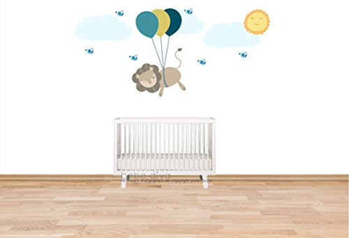 Balloon Wall Decals Wall Decals Nursery Kids Wall Decal Removable Reusable Nursery Decor