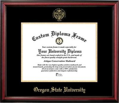 Oregon State University Affordable Diploma Frame 8 x 10