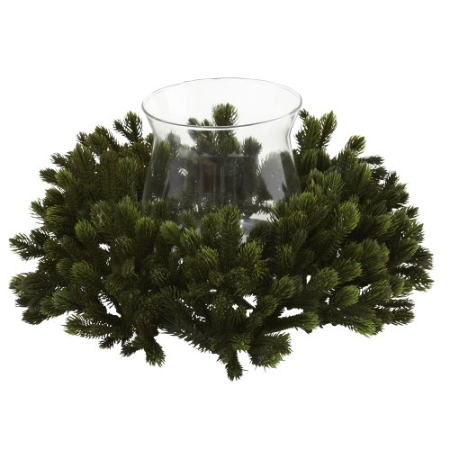 Nearly Natural 4819 Pine Candelabrum Green