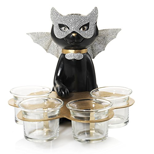 Yankee Candle Tealight Holder with Multi-Spooktacular Sophia