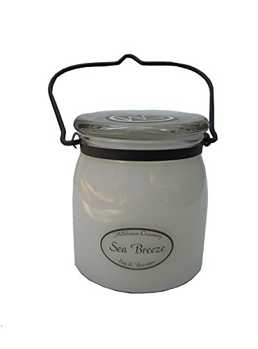 Milkhouse Creamery Soy and Beeswax Jar Candle Sea Breeze 16 Oz
