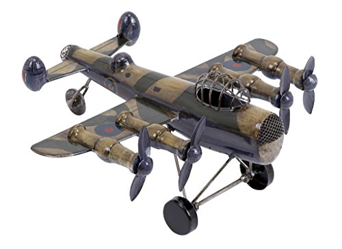 Deco 79 Unique Home Accents Metal Plane 10 by 5-Inch