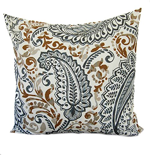 1 Paisley premier prints pillow covers 18 cushion decorative throw pillow decorative pillow accent pillow Brown pillow Tan pillow