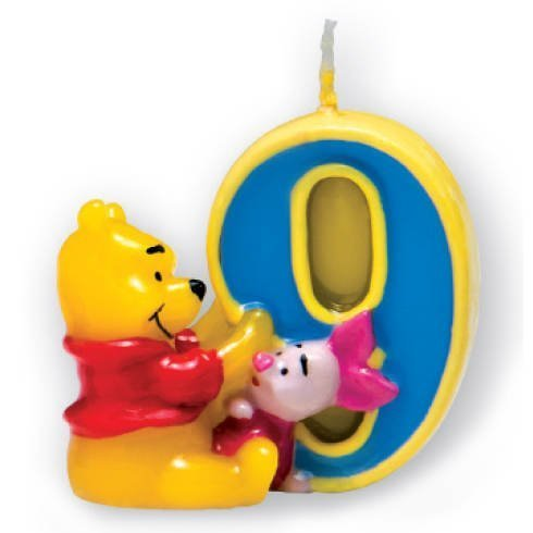 Disney Winnie The Pooh Piglet Birthday Candle Party Decoration- 9