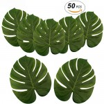 Large-Artificial-Tropical-Palm-Leaves-13-8-by-11-4inch-Hawaiian-Luau-Party-Jungle-Beach-Theme-Decorations-for-Table-Decoration-Accessories-by-Soyee-50pcs-4.jpg